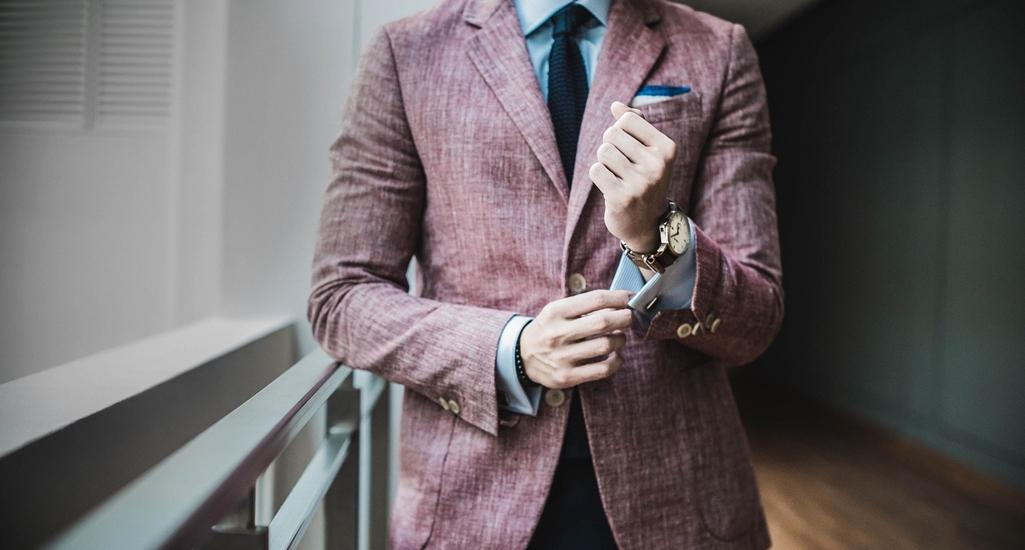 modny mężczyzna